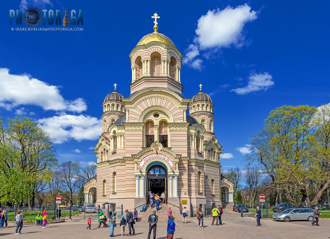 Brīvības bulvāris 23 - Christ's Birth Orthodox church (Kristus piedzimšanas pareizticīgo katedrāle)