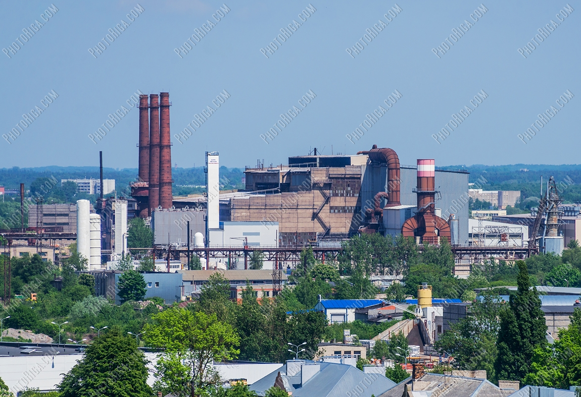 Former heavy metallurgy factory